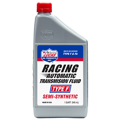 191212 Lucas Oil - Semi-Synthetic Type F Automatic Transmission Fluid