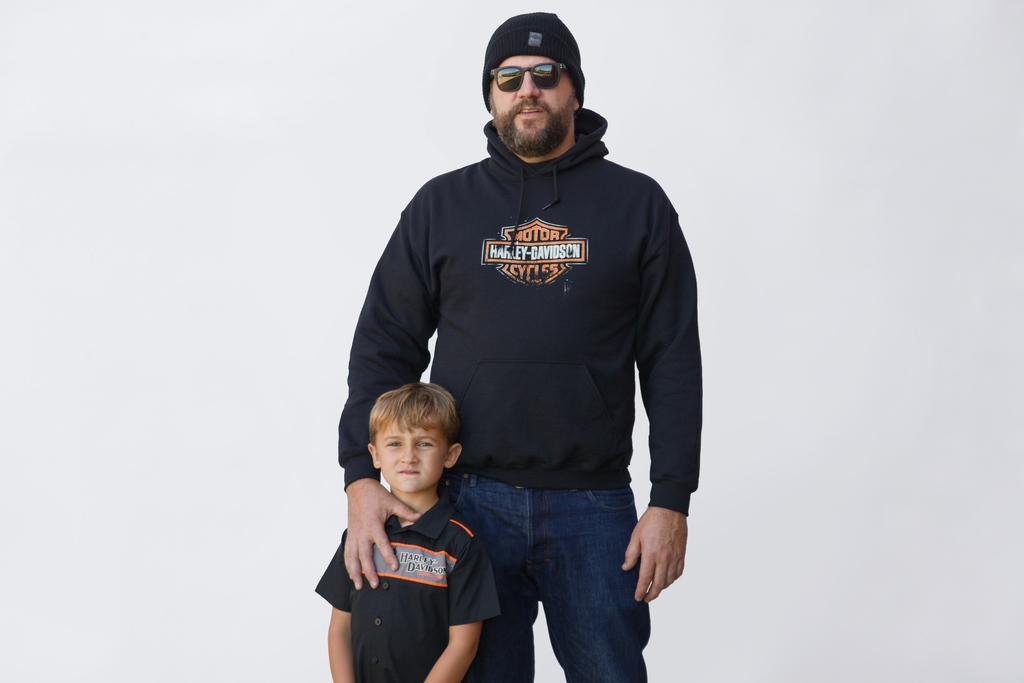 Harley-Davidson Father and Son
