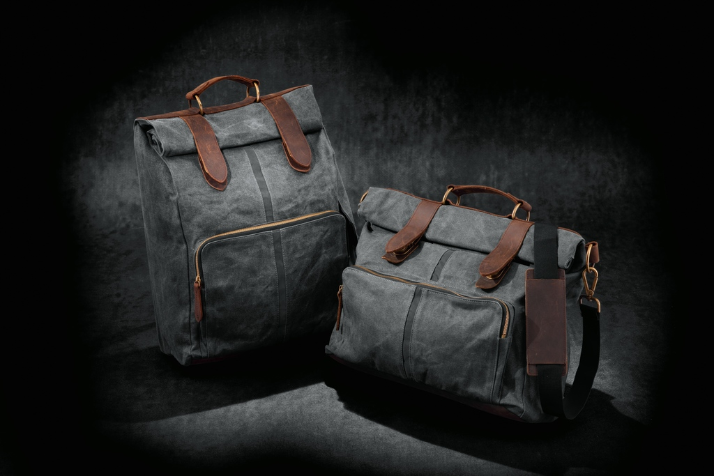 Harley-Davidson Waxed Canvas Backpack