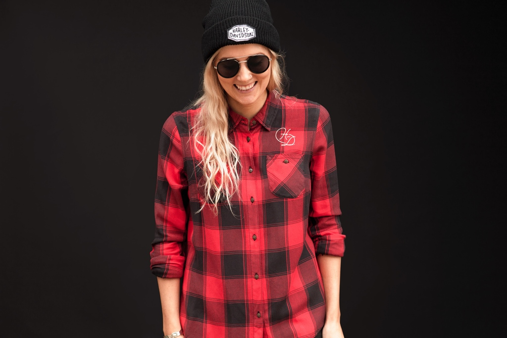 Harley-Davidson Womens Plaid