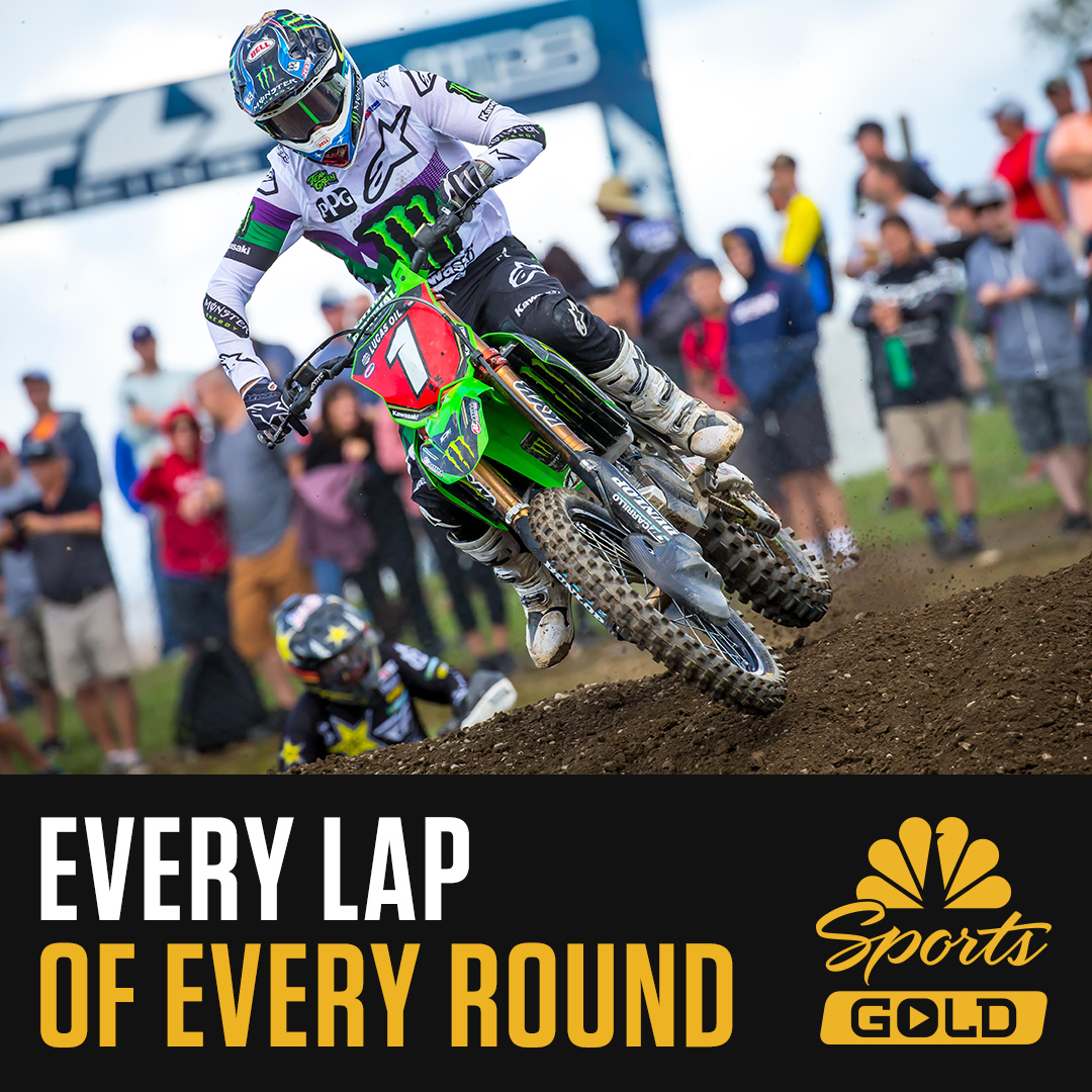 """191221 """"Give the Gift of Gold"""" with NBC Sports Gold's Combined AMA Supercross & Pro Motocross Streaming Package"""