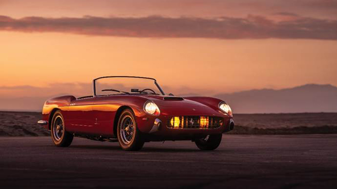191223 1958 Ferrari 250 GT Cabriolet Series I by Pinin Farina (Credit - Robin Adams ©2020 Courtesy of RM Sotheby's) [678]