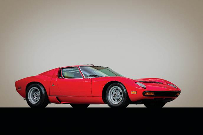 191223 1971 Lamborghini Miura P400 SV by Bertone (Credit - ©2020 Courtesy of RM Sotheby's)
