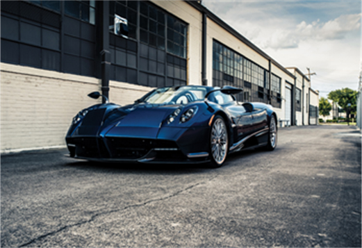 191223 2018 Pagani Huayra Roadster (Credit - Zachery Walker ©2020 Courtesy of RM Sotheby's