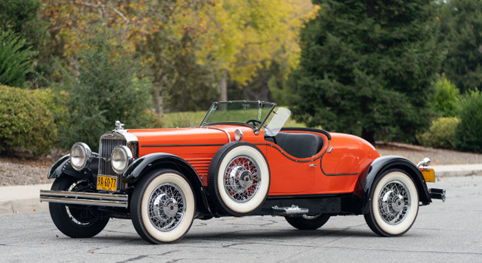1930 Stutz Series M Boattail Speedster (Estimate- $450,000 – $650,000) Gooding & Company - Scottsdale Auctions