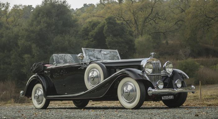 1932 Hispano-Suiza J12 Dual-Cowl Phaeton (Estimate- $1,500,000 – $2,000,000) Gooding & Company - Scottsdale Auctions