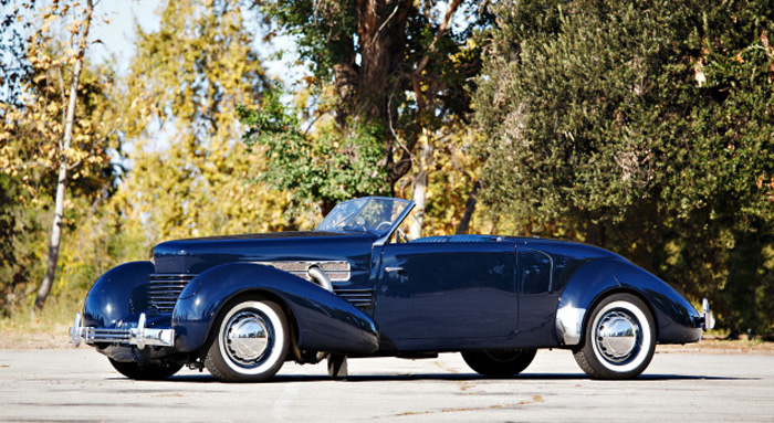 1937 Cord 812 S-C Cabriolet 'Sportsman' (Estimate- $350k – $450k Without Reserve) Gooding & Company - Scottsdale Auctions