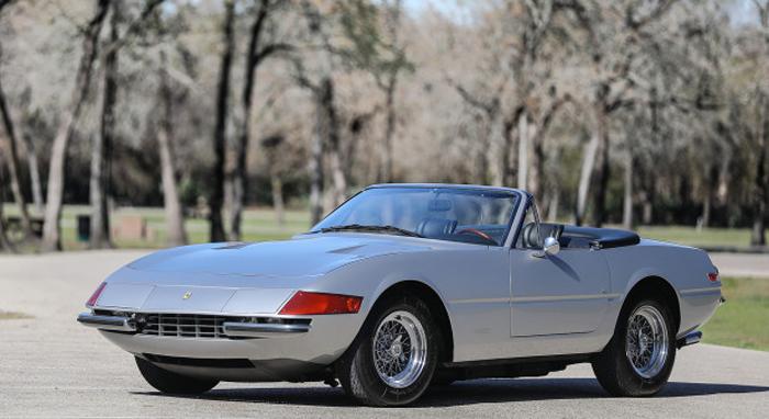 1972 Ferrari 365 GTB-4 Daytona Spider Gooding & Company - Scottsdale Auctions