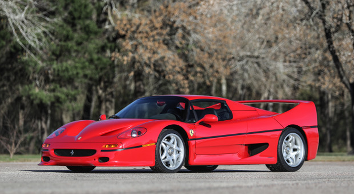 1995 Ferrari F50 Gooding & Company - Scottsdale Auctions
