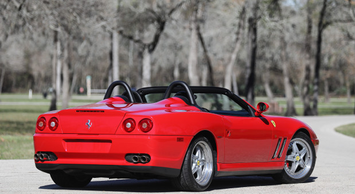 2001 Ferrari 550 Barchetta Gooding & Company - Scottsdale Auctions