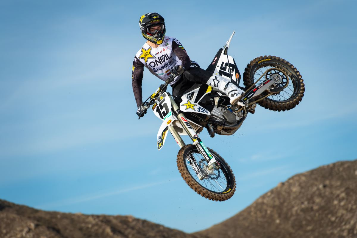 2020 Rockstar Energy Husqvarna Factory Racing Team - Dean Wilson