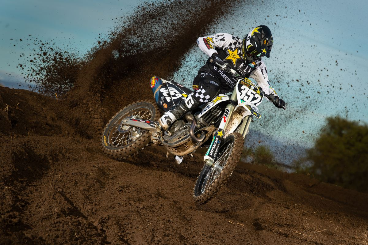 2020 Rockstar Energy Husqvarna Factory Racing Team - Jalek Swoll