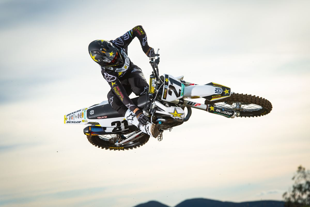 2020 Rockstar Energy Husqvarna Factory Racing Team - Jason Anderson