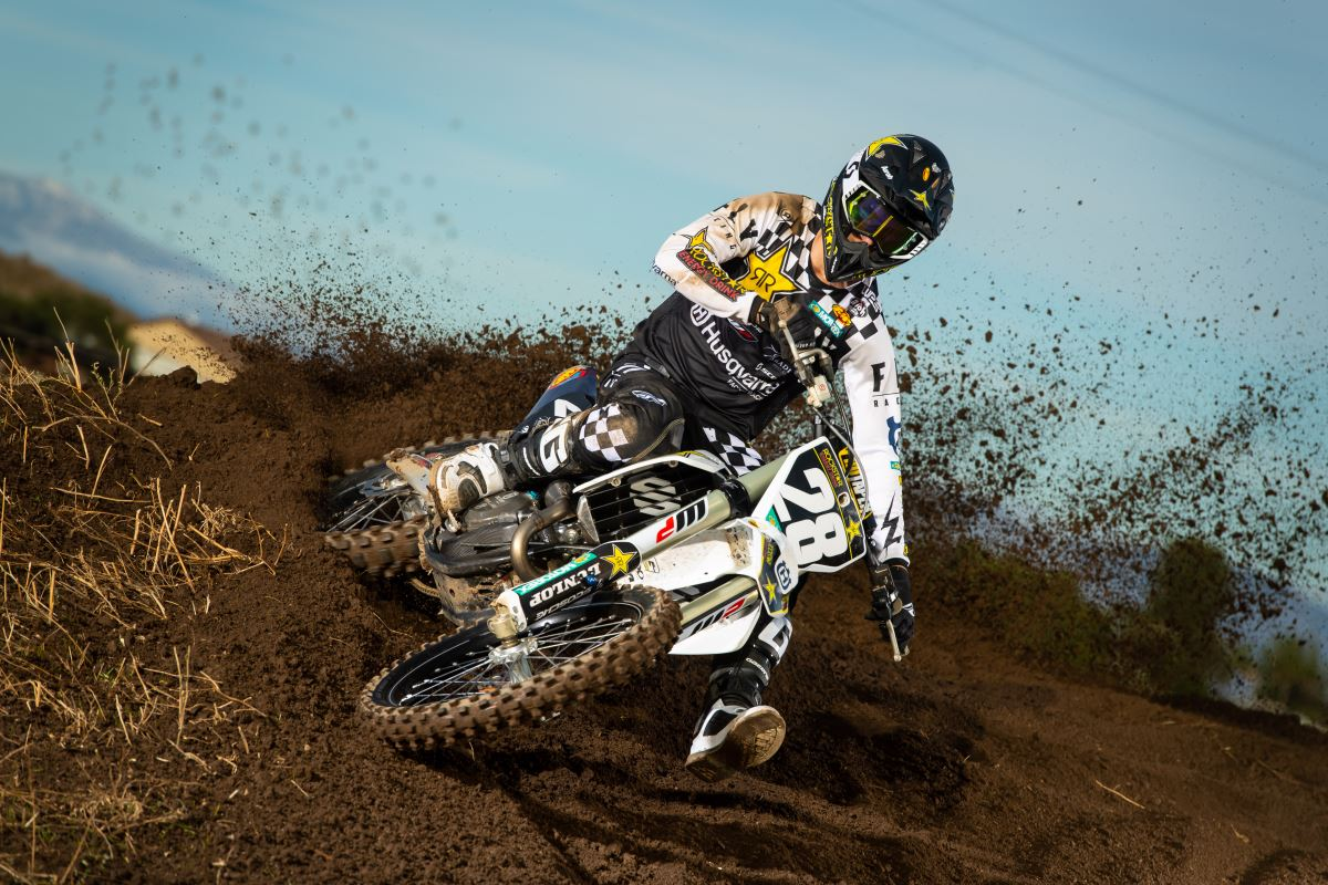 2020 Rockstar Energy Husqvarna Factory Racing Team - Michael Mosiman