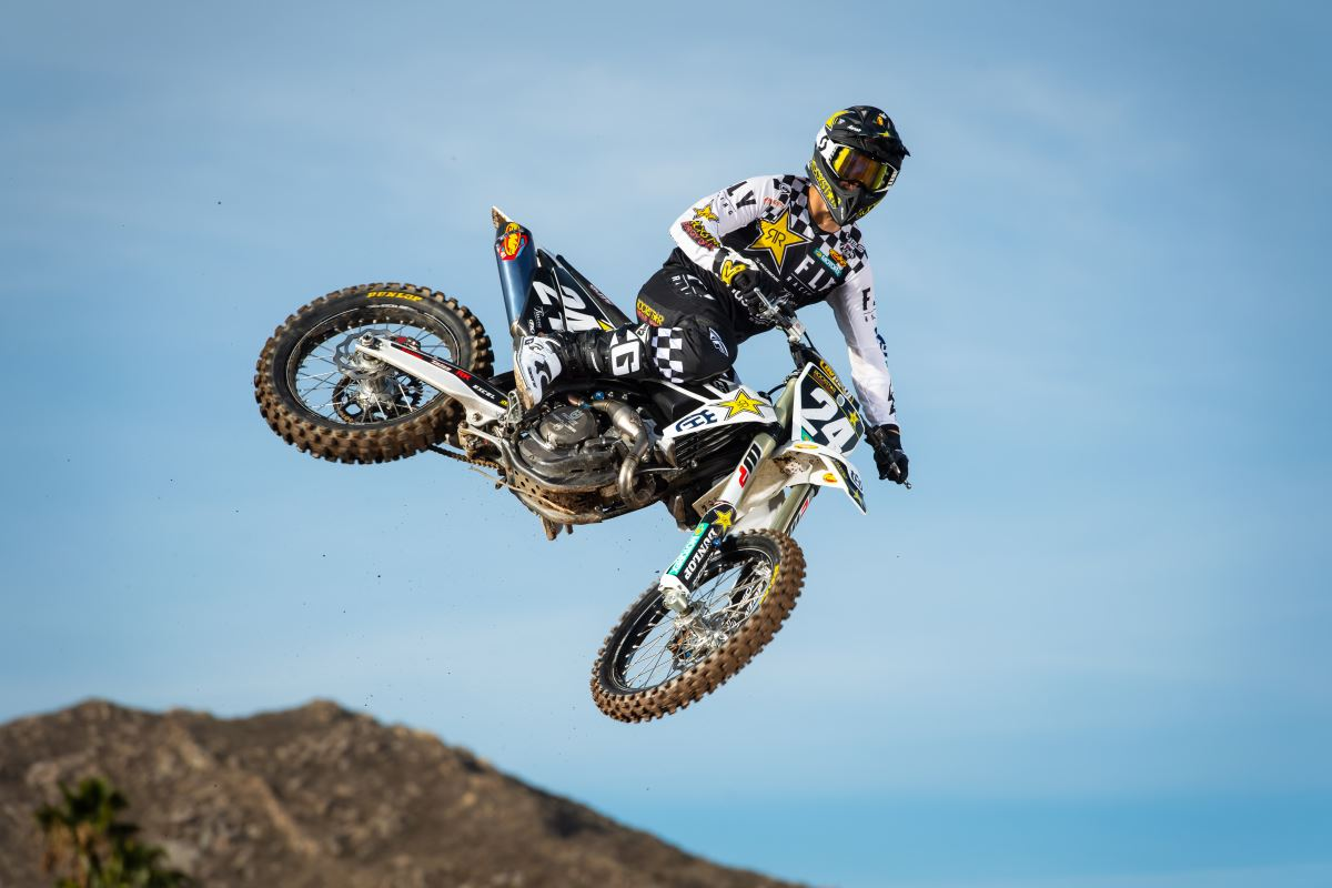 2020 Rockstar Energy Husqvarna Factory Racing Team - RJ Hampshire