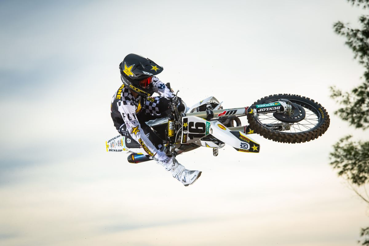 2020 Rockstar Energy Husqvarna Factory Racing Team - Zach Osborne