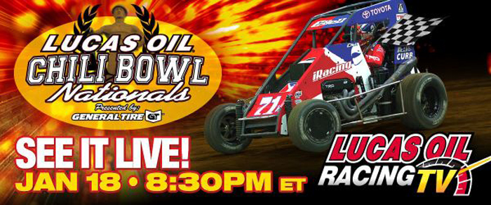 Lucas Oil Chili Bowl Nationals Coming to LORTV This January