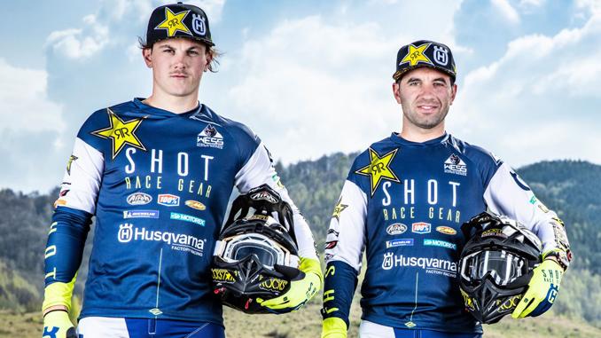 SuperEnduro World Championship - Billy Bolt and Alfredo Gomez – Rockstar Energy Husqvarna Factory Racing [678]