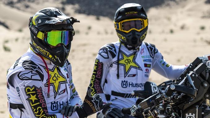 200103 Pablo Quintanilla - Andrew Short – Rockstar Energy Husqvarna Factory Racing - Dakar [678]