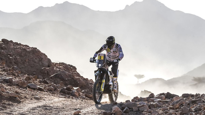 200106 Pablo Quintanilla Third Fastest on Technical Dakar Rally Stage Two [678]