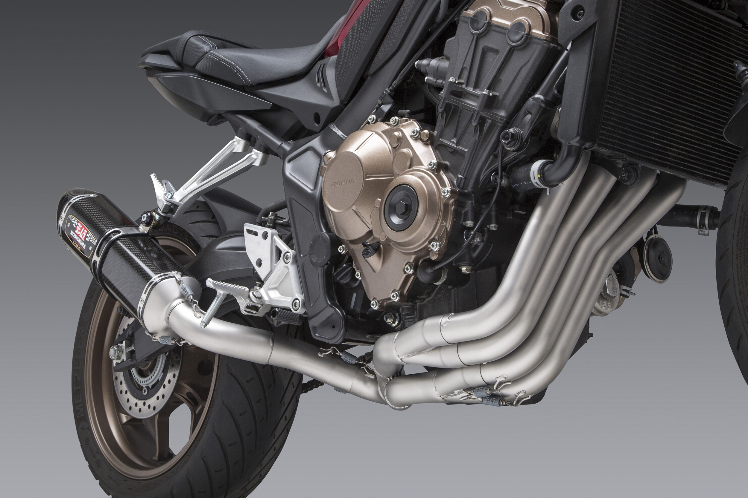 200109 2019 CB650R Works Finish headers are a work of art!