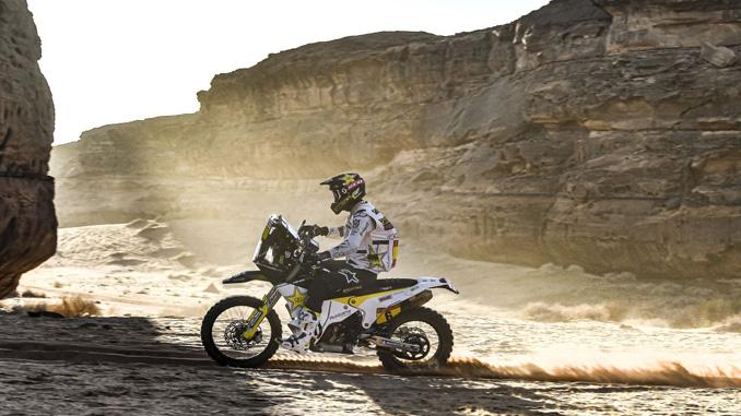 200109 Andrew Short – Rockstar Energy Husqvarna Factory Racing - 2020 Dakar Rally stage 5 [678]