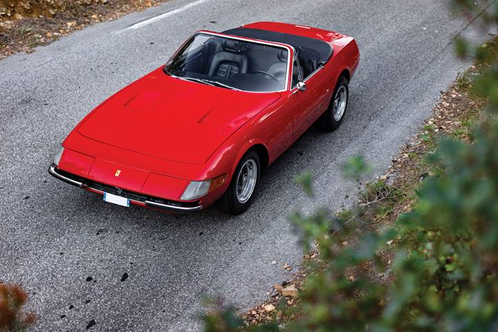200111 1972 Ferrari 365 GTS:4-A Daytona Spider (Kevin Van Campenhout © 2019 Courtesy of RM Sotheby's)