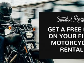 Twisted Road motorcycle rental launches new referral program