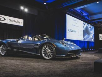 200119 The 2018 Pagani Huayra Roadster crossing the block at RM Sotheby's Arizona sale [678]