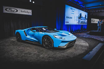 200119 The Ford GT crosses the block on Friday night at RM Sotheby's Arizona
