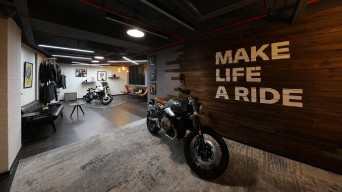 "200121 BMW Motorrad partners with ""The House of Machines"" in Shanghai [678]"