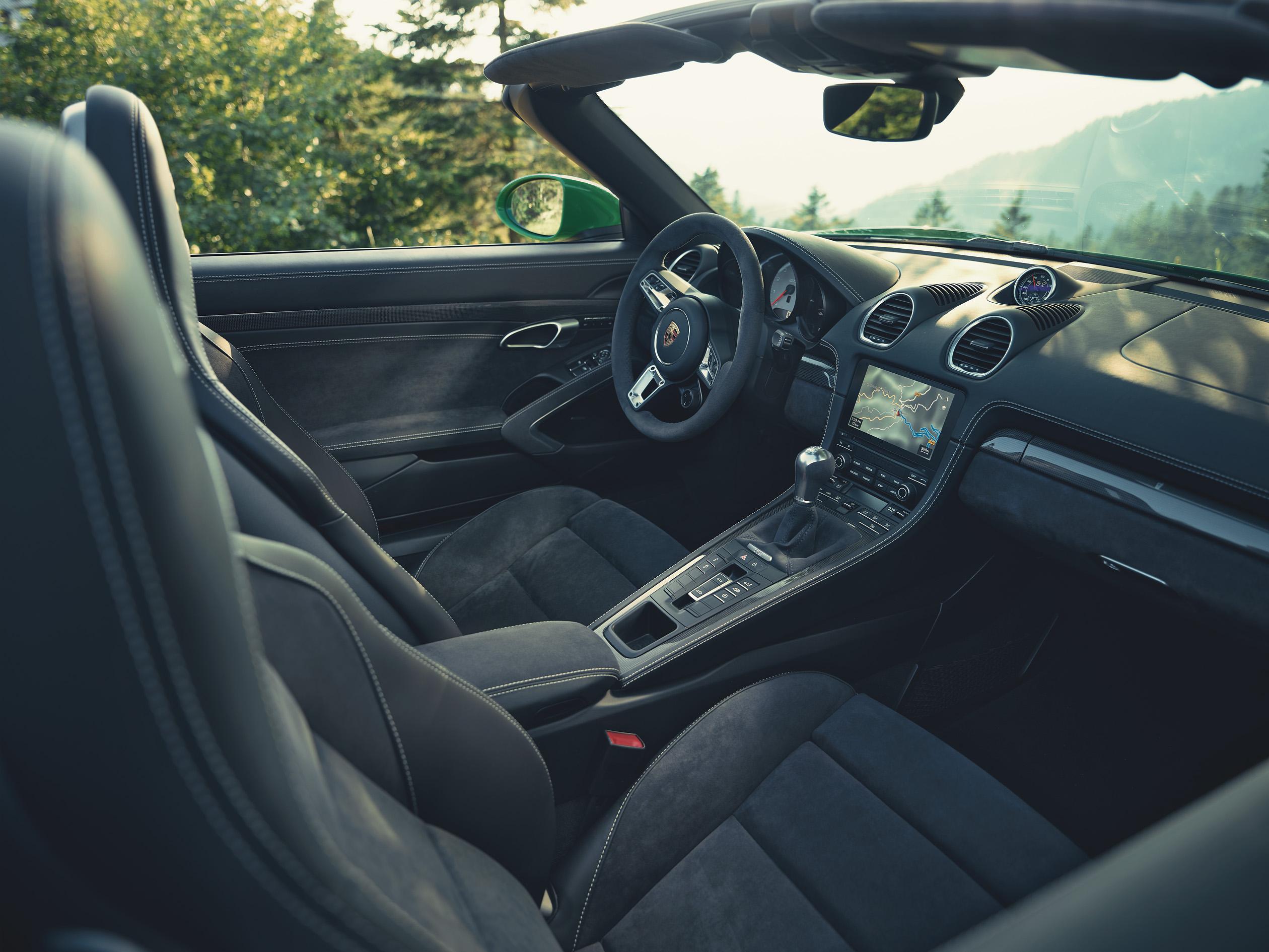 2020 Porsche 718 Boxster GTS 4.0 Interior