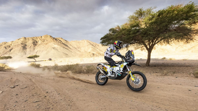 Andrew Short – Rockstar Energy Husqvarna Factory Racing - 2020 Dakar Rally Stage 4 [678]
