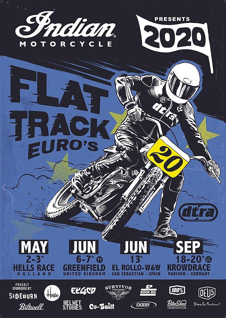 2020 Indian Motorcycle European Flat Track Series
