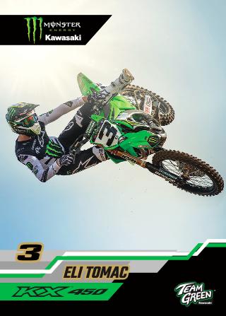 Monster Energy® Kawasaki and Monster Energy®:Pro Circuit:Kawasaki Introduce 2020 Collector Cards [1]