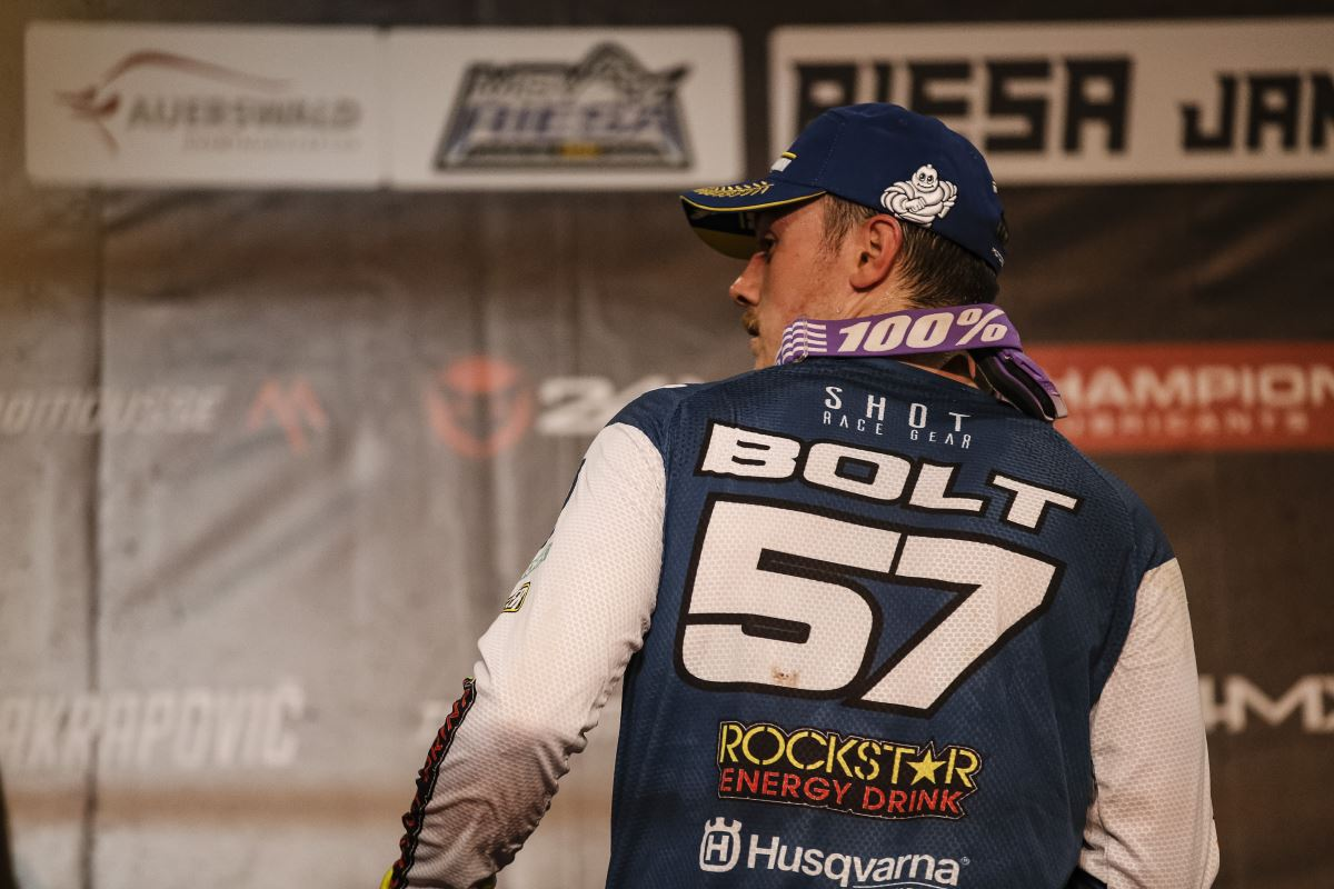 Runner-Up Finish for Bolt at SuperEnduro Round Two [2]