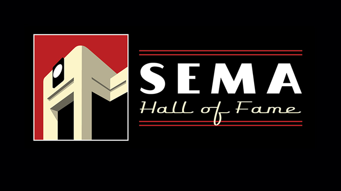SEMA Hall of Fame logo