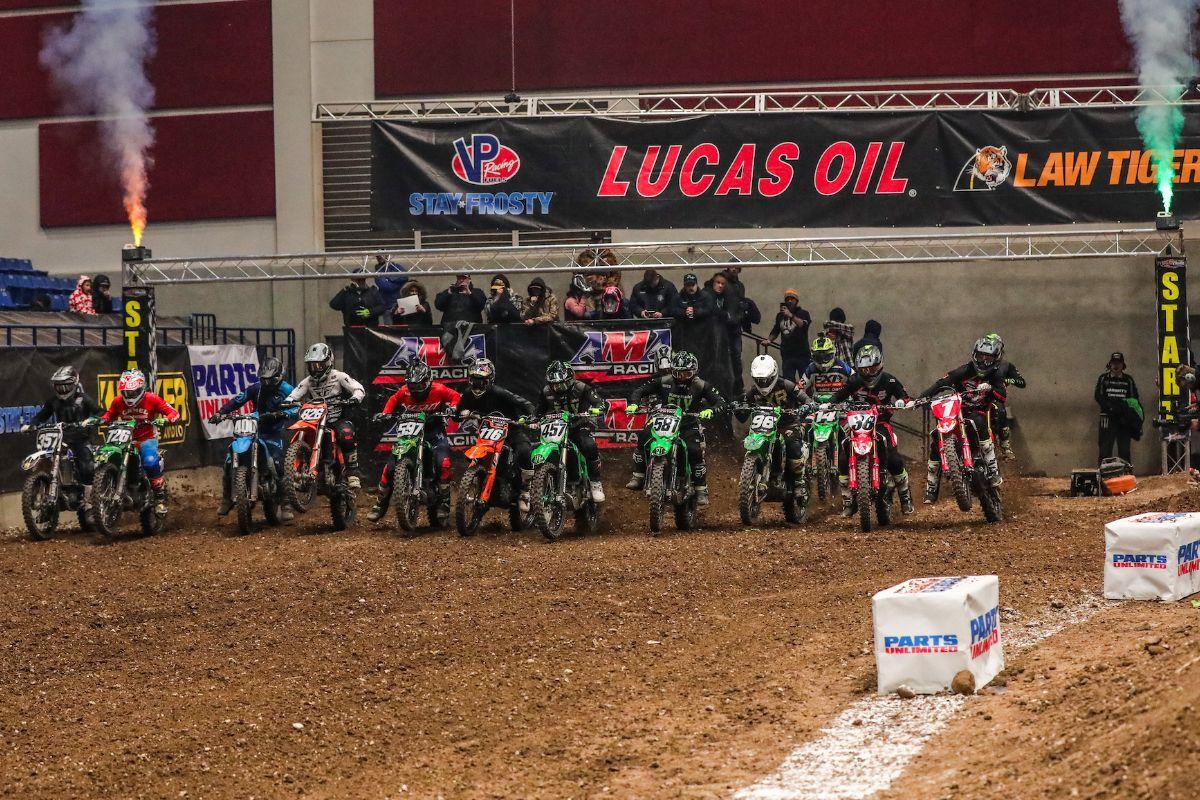 The 450 Pro Sport Main Event lineup. (Photo- Jack Jaxson)