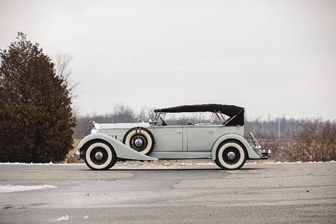 1934 Packard Eight Dual-Cowl Sport Phaeton offered from The Schluter Collection (Teddy Pieper © Courtesy of RM Auctions)