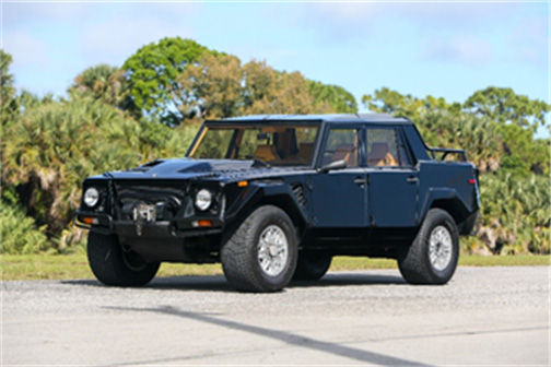 1992 Lamborghini LM002 (Credit – Ryan Merrill © 2020 Courtesy of RM Auctions)