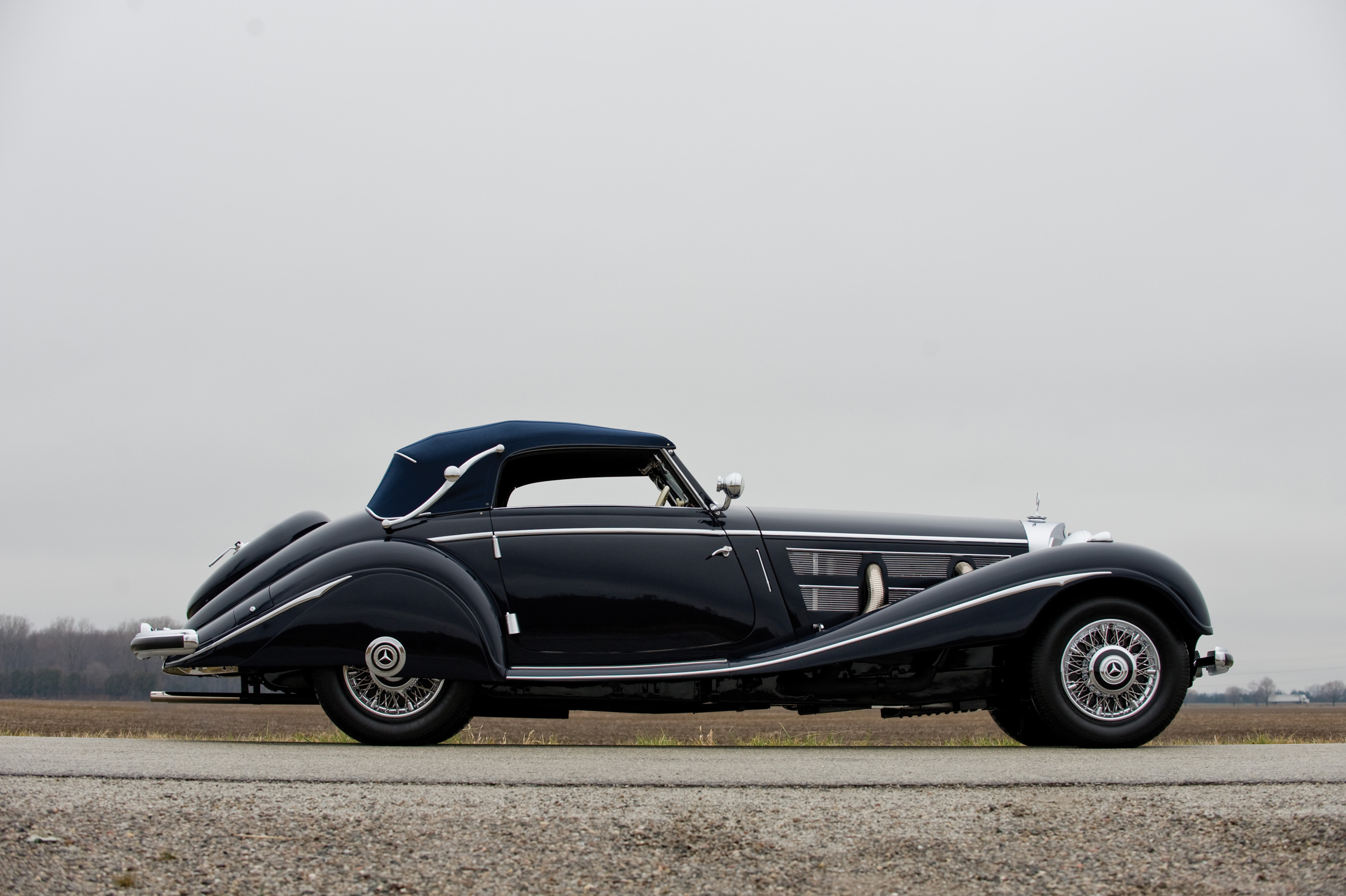 200204 1937 Mercedes-Benz 540K Cabriolet A ©2010 Courtesy of RM Auctions [4]