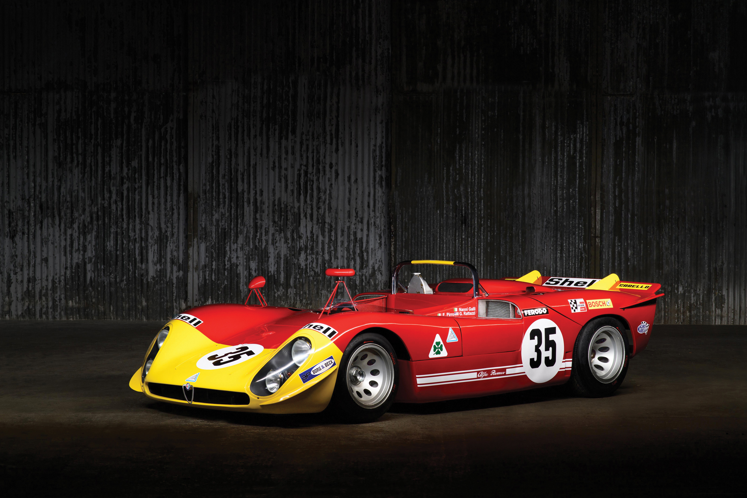 1969 Alfa Romeo Tipo 33/3 (Credit – Tim Scott © 2020 Courtesy of RM Sotheby's)