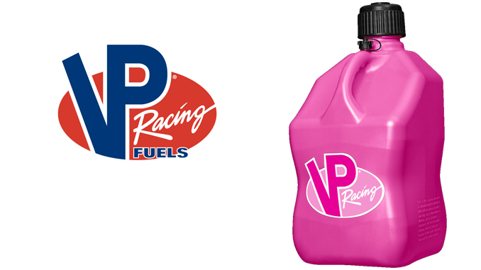 200204 VP RACING FUELS INCREASES PUSH TO PREVENT CANCER - Pink Jug campaign