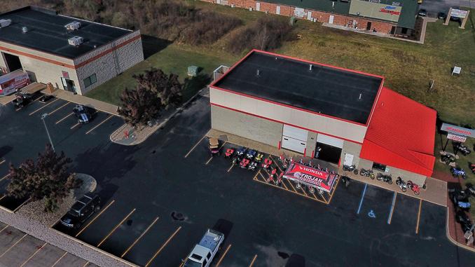 Trojan Powersports Honda Powersports dealership, Monroe, Michigan
