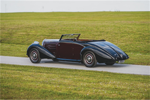 200214 1938 Bugatti Type 57 Cabriolet by D'Ieteren (Credit - Darin Schnabel ©2020 Courtesy of RM Sotheby's) [2]