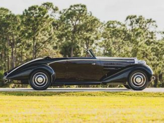 1938 Bugatti Type 57 Cabriolet by D'Ieteren (Credit - Darin Schnabel ©2020 Courtesy of RM Sotheby's) [678]