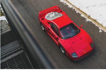 200214 1992 Ferrari F40 (Credit - Darin Schnabel ©2020 Courtesy of RM Sotheby's)