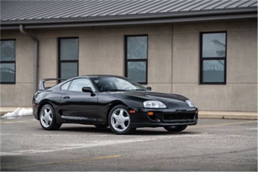 1993 Toyota Supra Twin Turbo Sport Roof (Credit - Jeremy Cliff ©2020 Courtesy of RM Sotheby's)