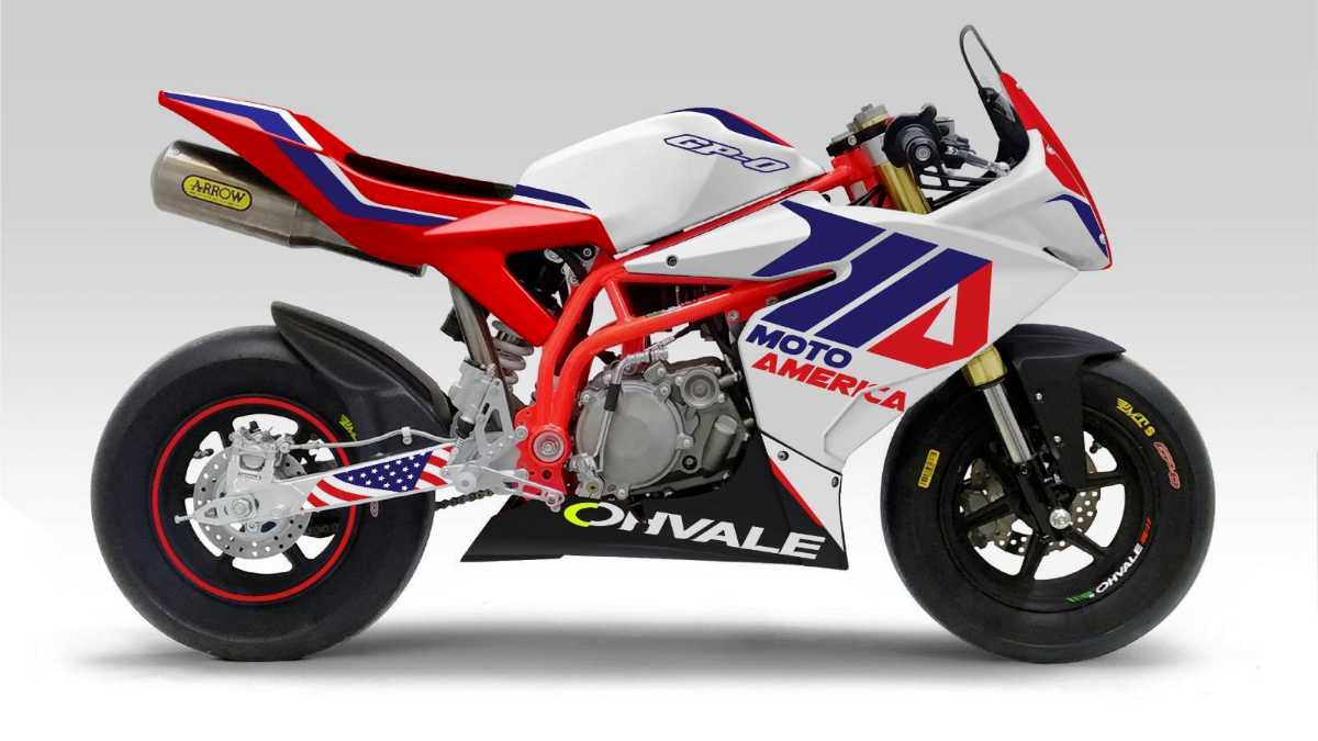 200217 Ohvale has been named as the official motorcycle of the MotoAmerica Mini Cup by Motul