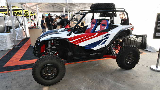 The SEMA Young Executives Network (YEN) UTV Student Build Pilot Program will showcase the completed 2019 Honda Talon